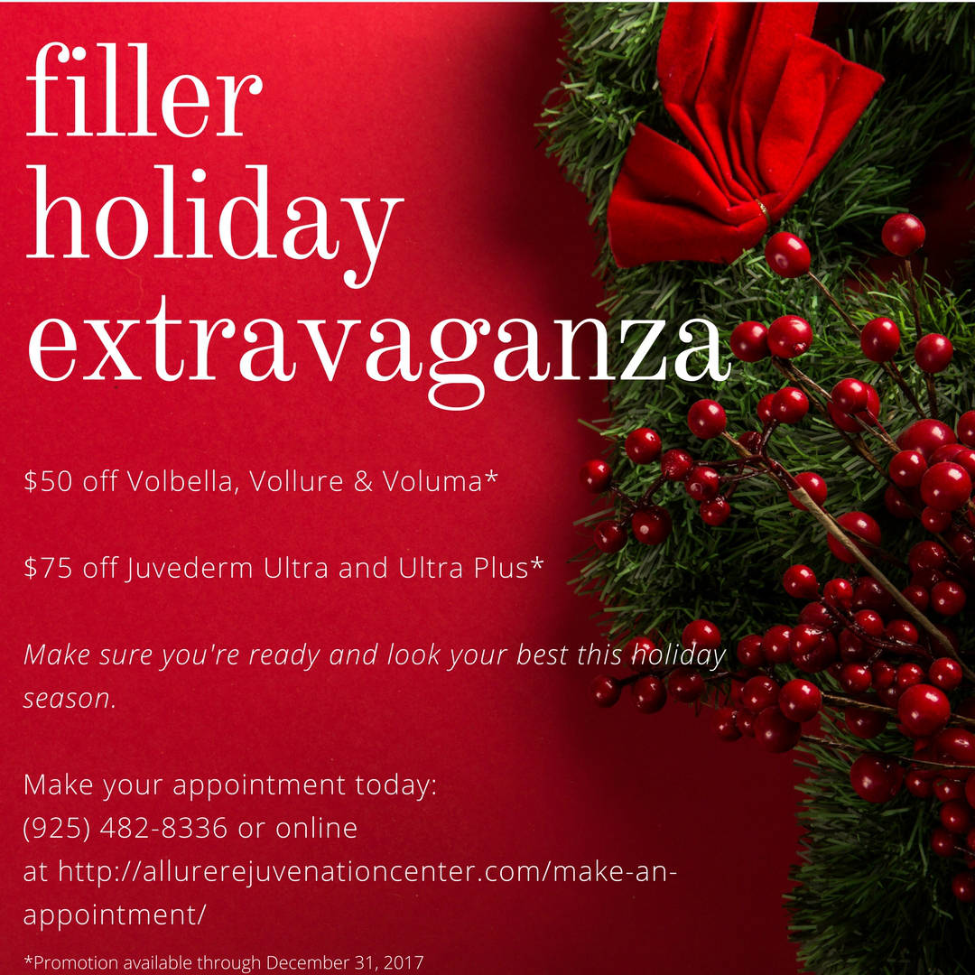 Filler Holiday Extravaganza Allure Rejuvenation Center